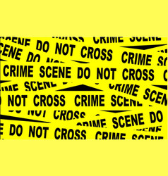 Crime scene tape vector