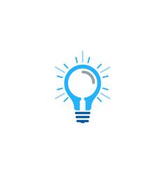 find idea logo icon design vector image