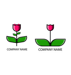 flower logo images stock photos vector image