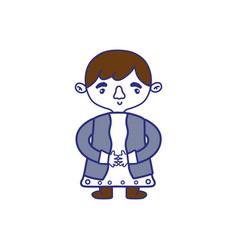 Isolated boy design vector