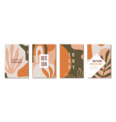 Modern abstractions covers templates set vector