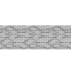 Seamless of gray brick vector image
