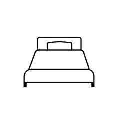 single bad linear icon vector image