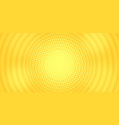 yellow gold circles background vector image