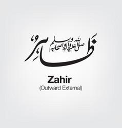 Zahir vector