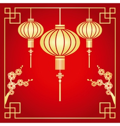 chinese paper cutting vector image