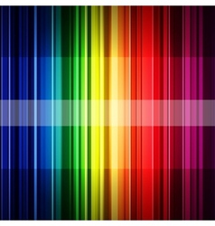 Abstract retro rainbow stripes background vector image