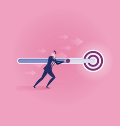 business target - business concept vector image