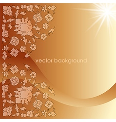 Decorative cover template fifteen vector