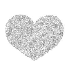 Decorative Love Heart vector