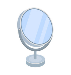 desk mirrorbarbershop single icon in cartoon vector image