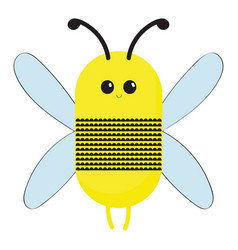 image bee or color vector image