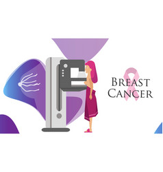 National breast cancer awareness month or pink vector