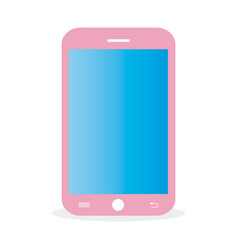 pink-mobile vector image