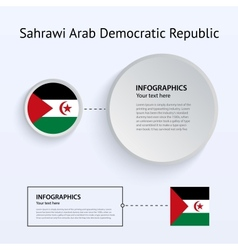 Sahrawi Arab Democratic Republic Country Set of vector