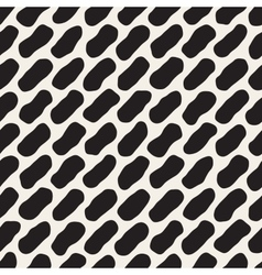 Seamless Black And White Jumble Lines vector