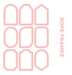 set blank gift tag labels for sale prices vector image