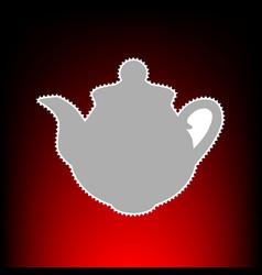 tea maker style vector image