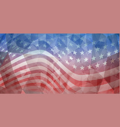 Usa independence day abstract background vector