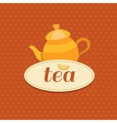 tea10 vector image