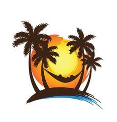 summer vacation2 vector image vector image