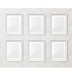 exhibitionwallpapers5 vector image vector image