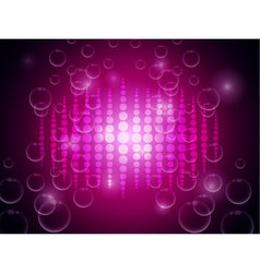 Abstract on pink blurry background vector image