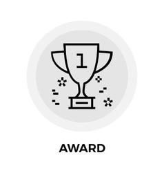Award Line icon vector image