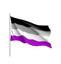 International asexual flag vector
