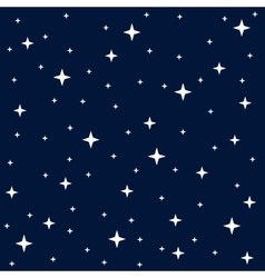 Seamless texture night sky vector