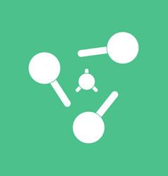 Icon atoms elements vector