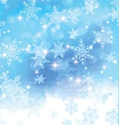 watercolor snowflake background 1111 vector image vector image