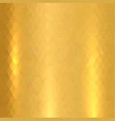 shiny metallic gold texture vector image vector image