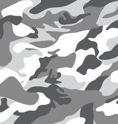 black and white camouflage vector image