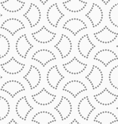 Dotted cut circle pin will vector
