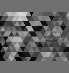 geometric shaped design black hexagons vector image
