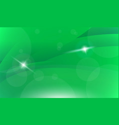 Green shiny spark futuristic vector