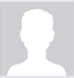 person gray photo placeholder little boy vector image