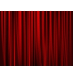 theatrical background drape vector image