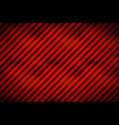 warning sign red and black stripes with grunge vector image