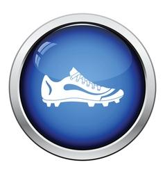 American football boot icon vector image
