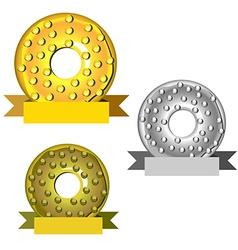 Best desert contest award vector image vector image