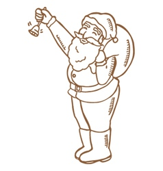 Santaclaus vector image