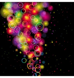 Rainbow Colours Background vector image