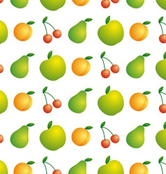 Background of beautiful and juicy fruits vector image