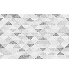 Black White Marble Triangle Pattern Background vector