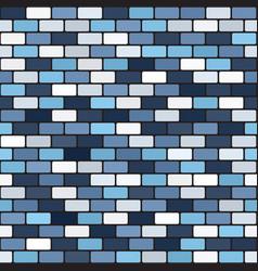 brick pattern seamless vector image