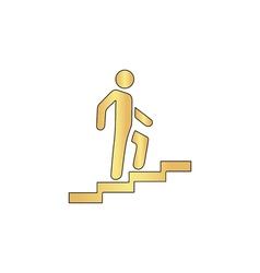 career computer symbol vector image