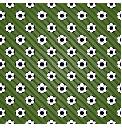 creative football sport seamless pattern vector image