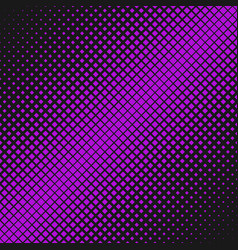 geometrical halftone diagonal square background vector image